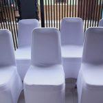 sewa kursi futura cover putih
