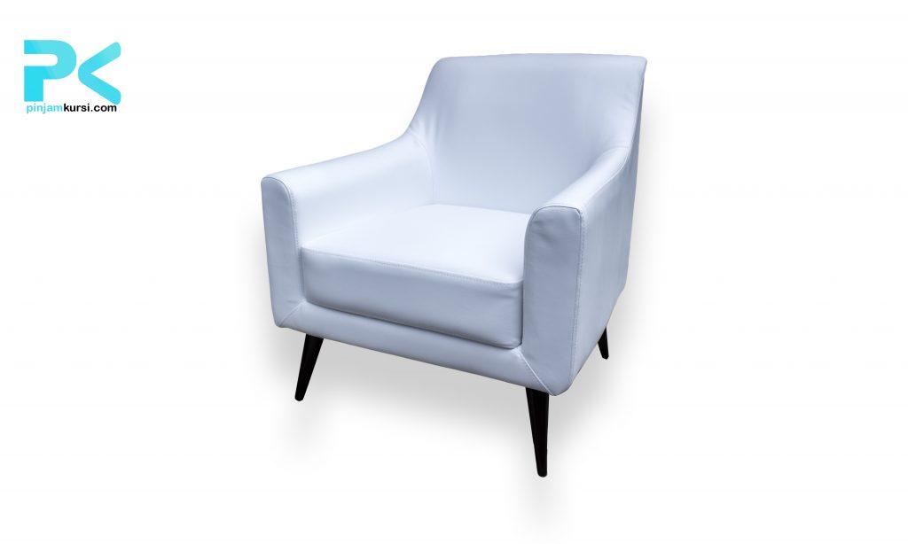 Sewa sofa vip kaki warna putih