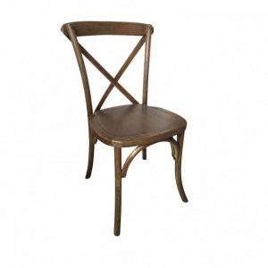 sewa cross back chair kayu