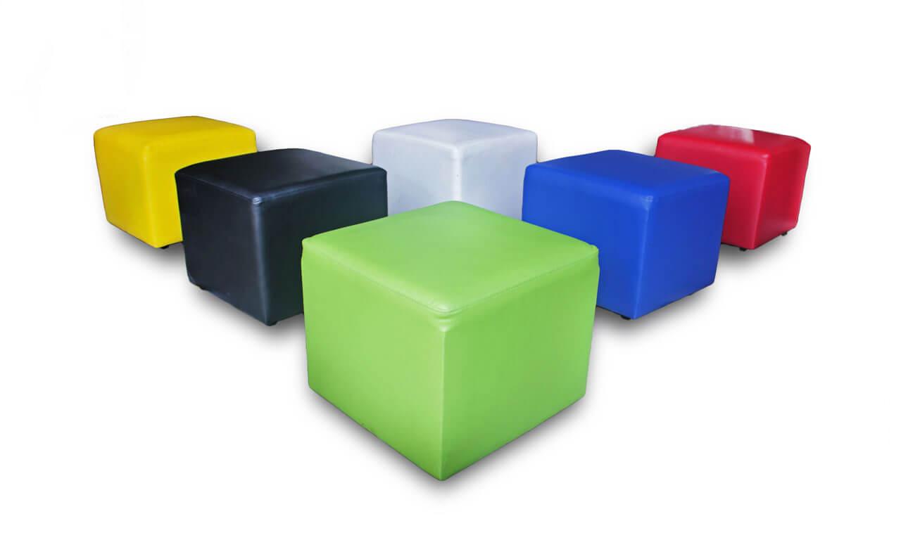 sewa sofa puff warna warni