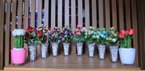 sewa bunga meja