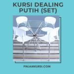 Kursi Dealing Putih (Set)