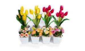 bunga hias meja
