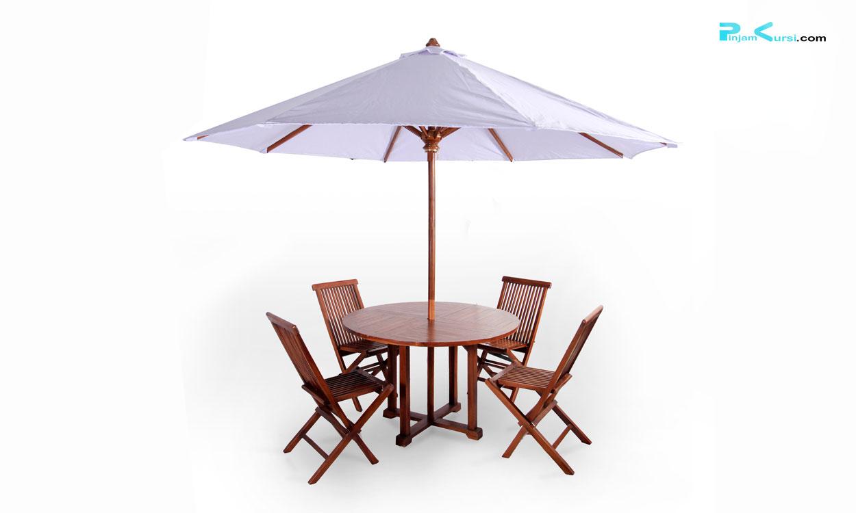 sewa parasol kursi taman