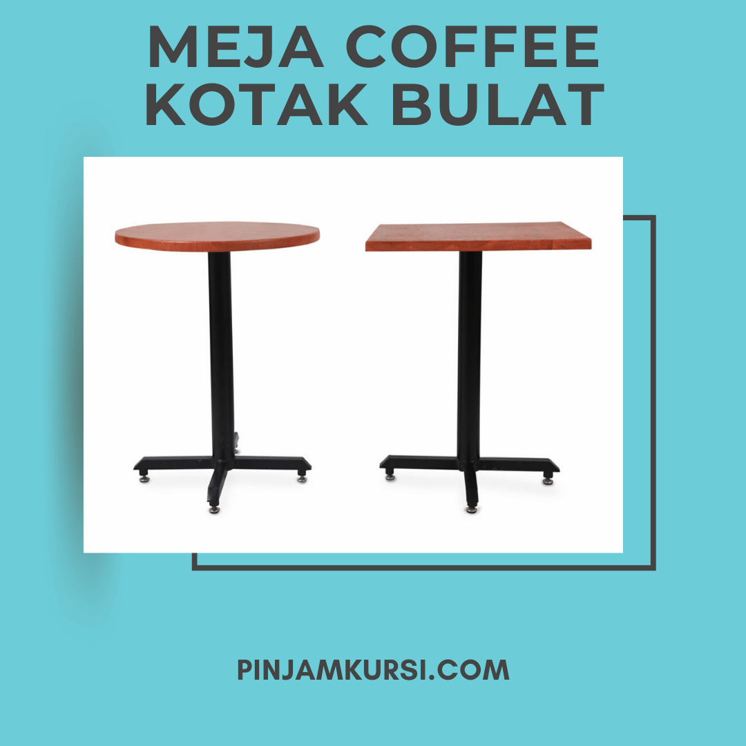 sewa meja coffee kayu
