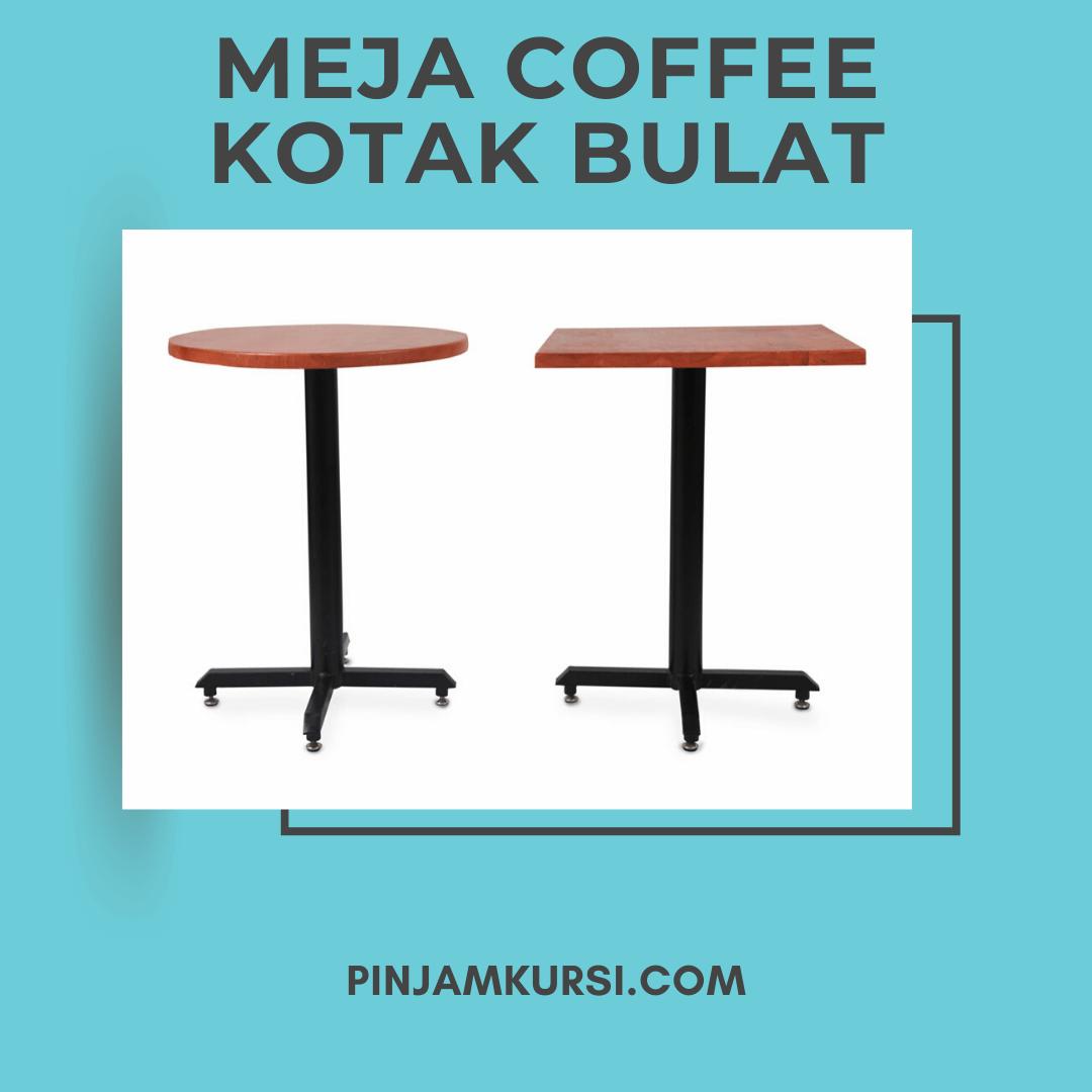 sewa meja coffee kayu