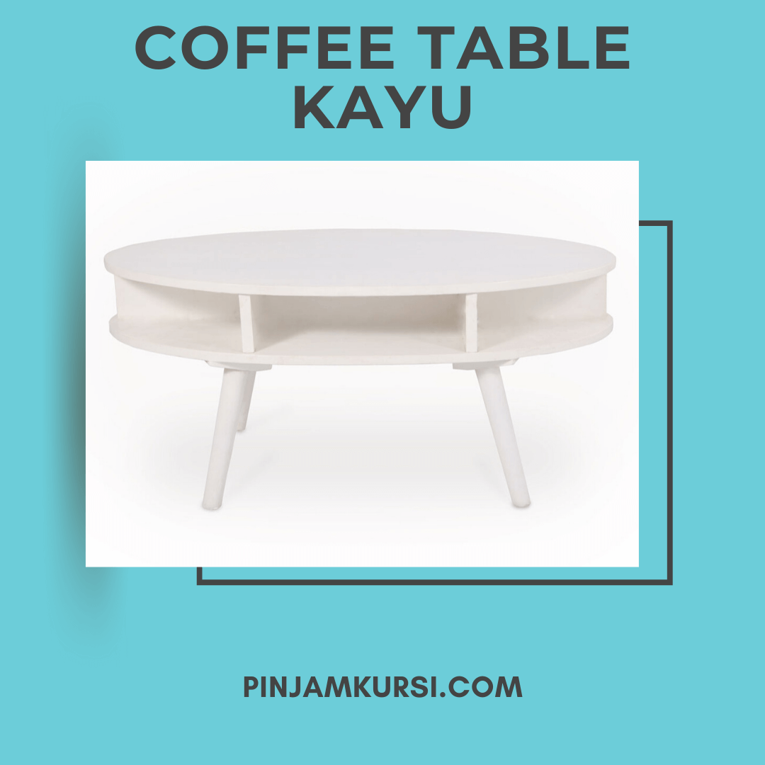 sewa coffee table kayu