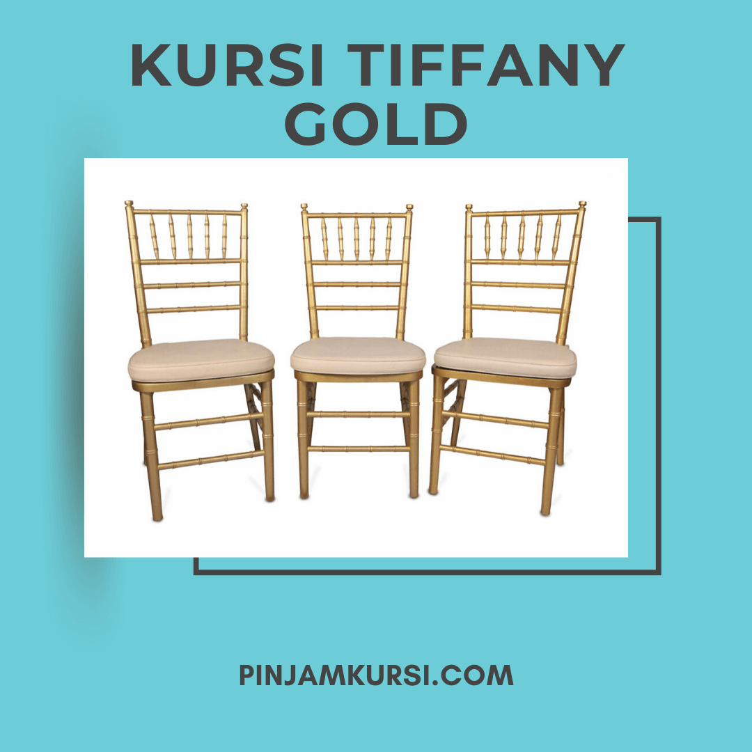 sewa kursi tiffany gold