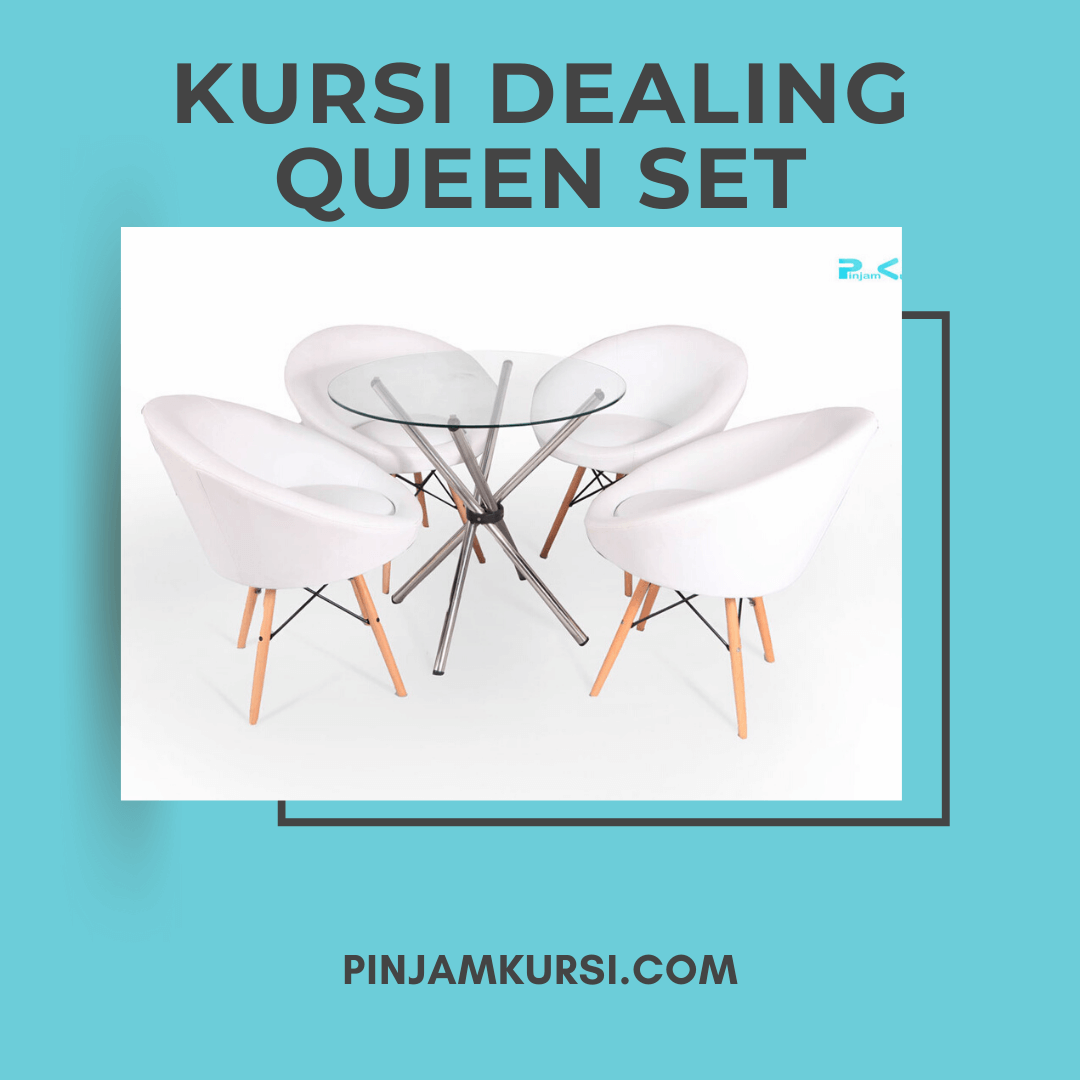 sewa meja kursi dealing queen set