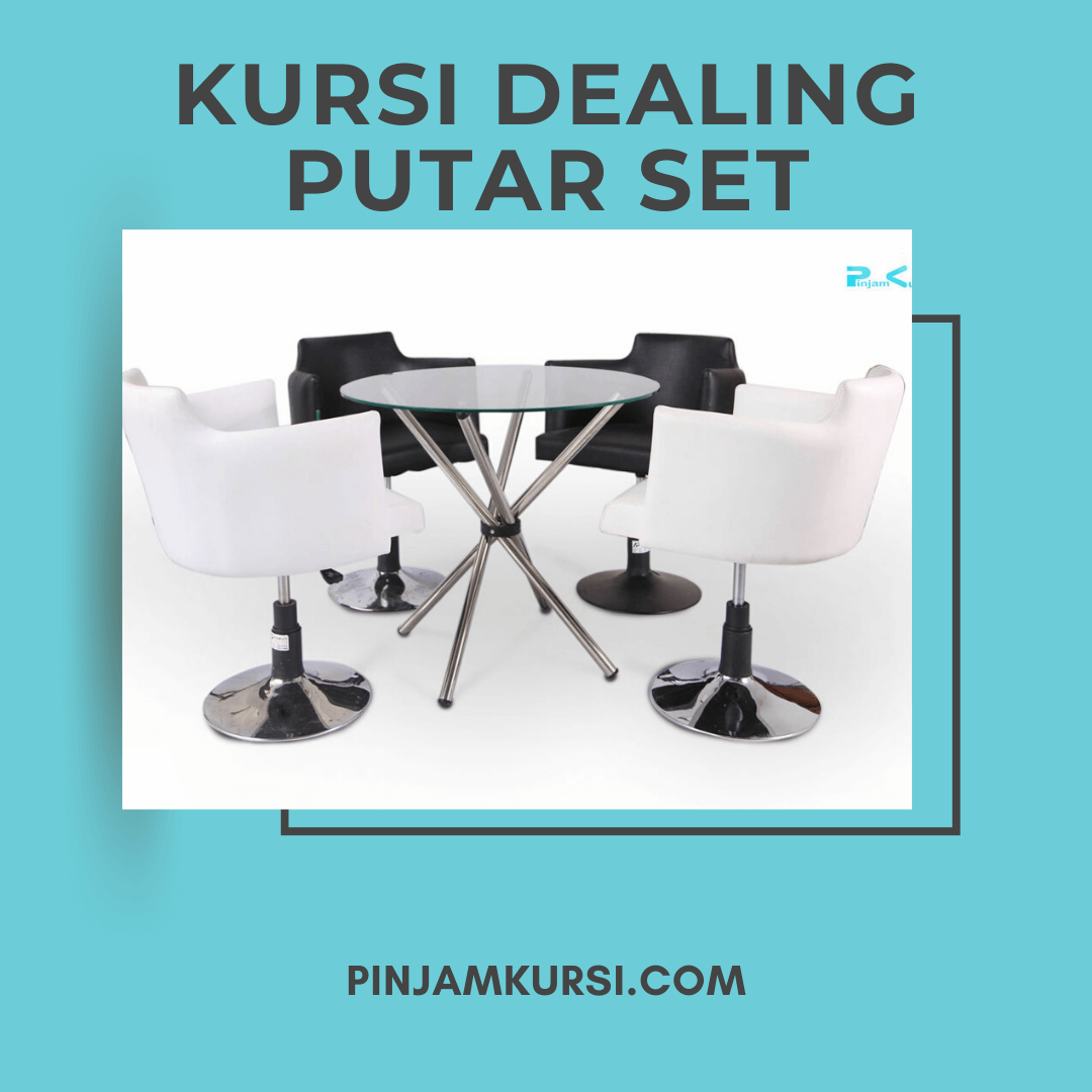 sewa meja kursi dealing putar set