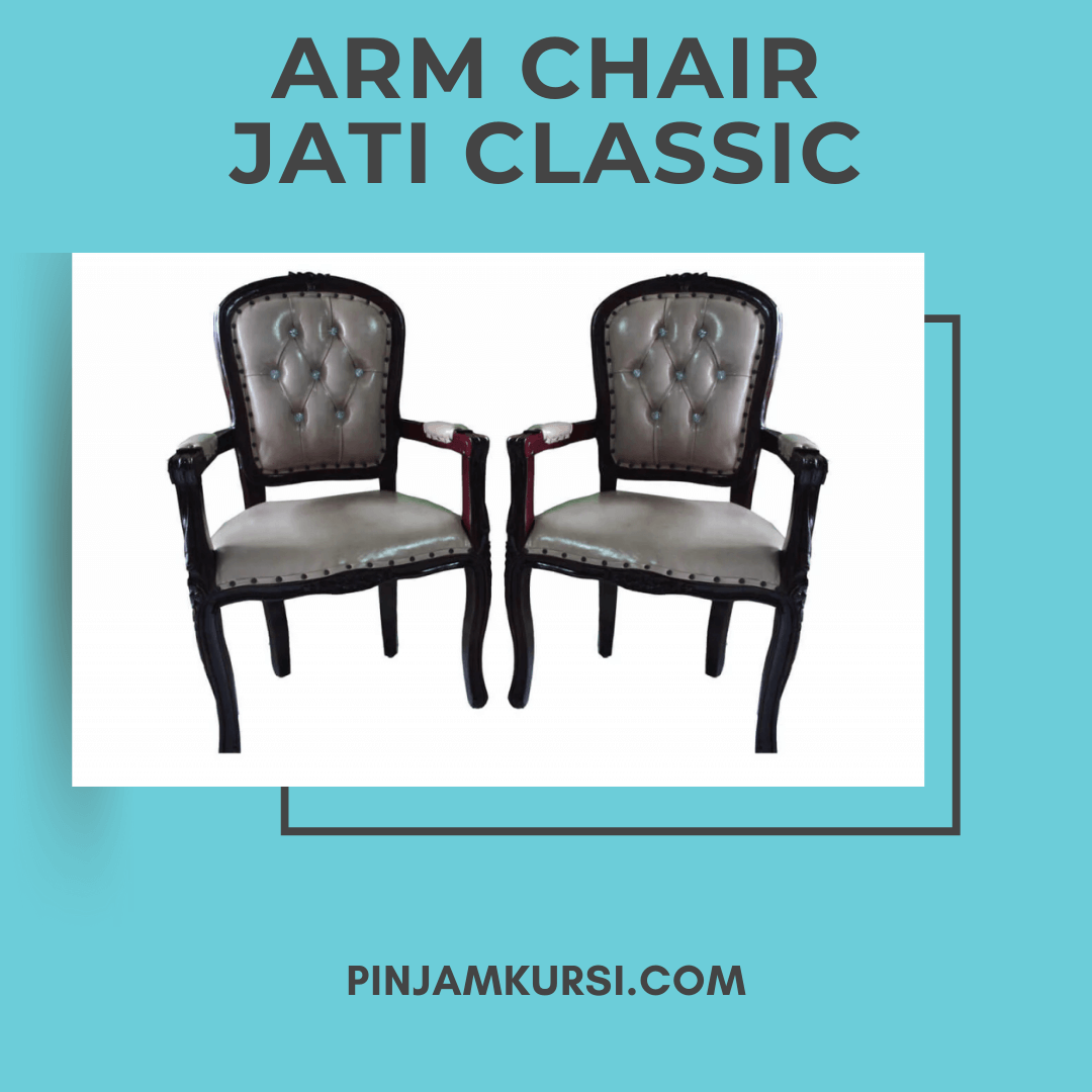 sewa kursi arm chair klasik