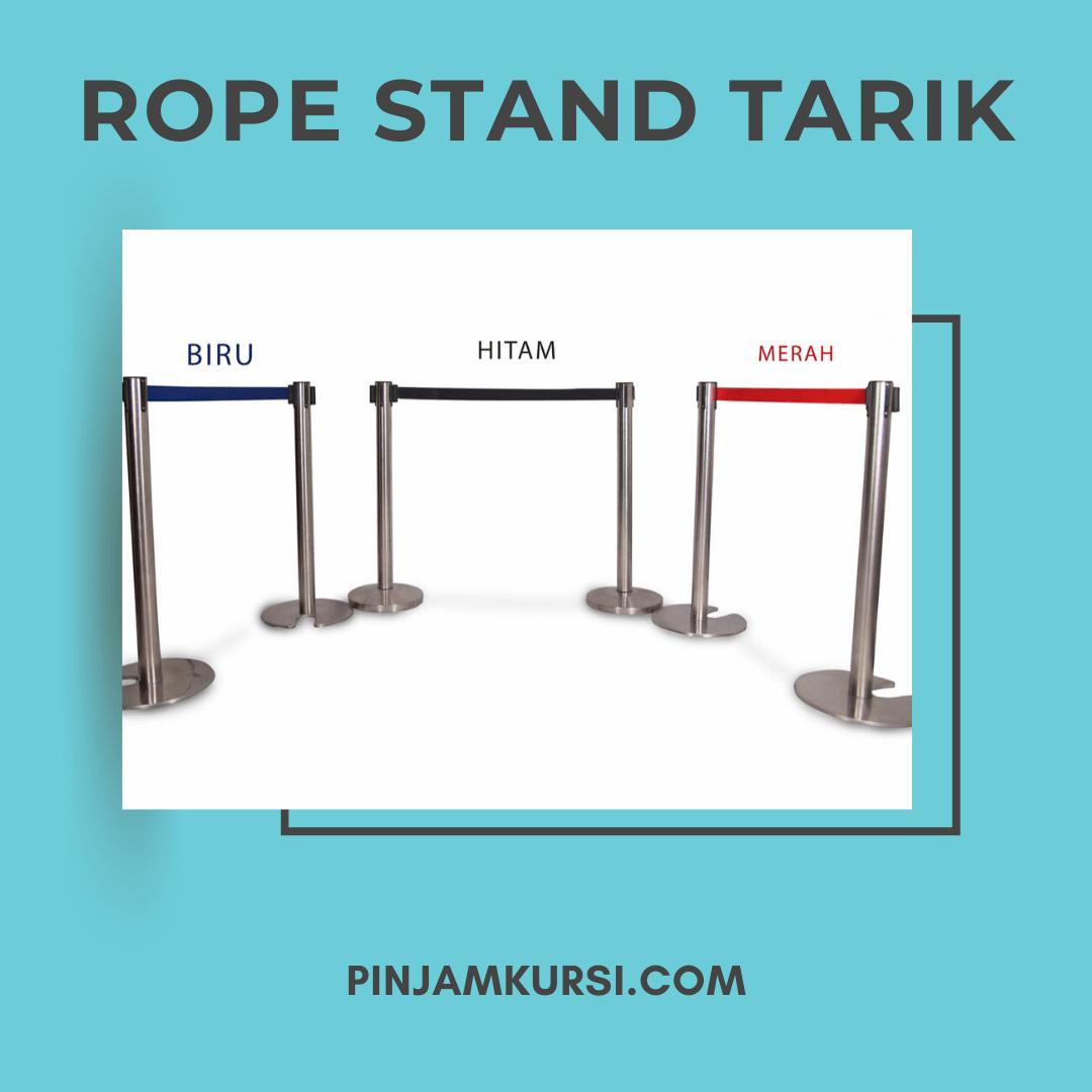 sewa rope stand tarik